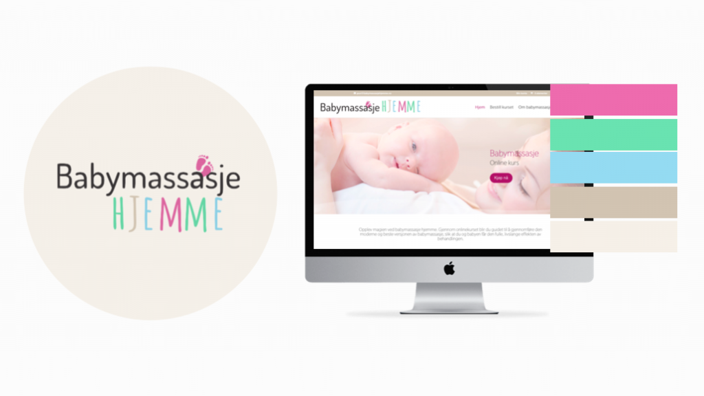 Babymassasje Hjemme Meraki Marketing