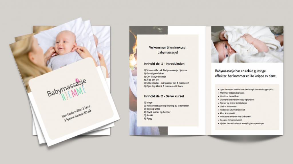 Babymassasje Hjemme Meraki Marketing